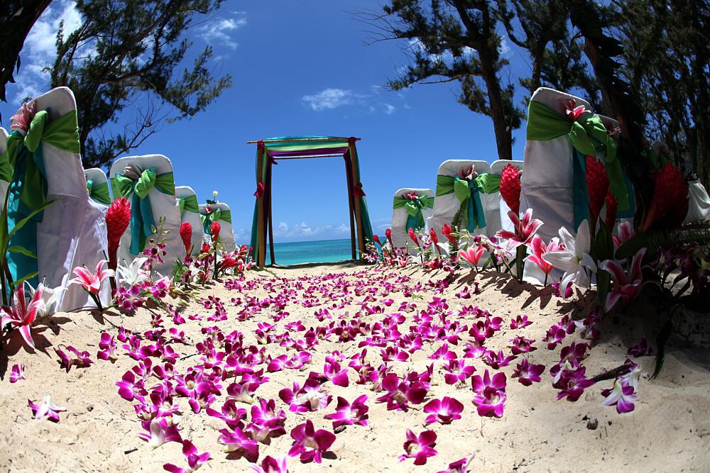 Beach Theme Wedding Venue Beach themed wedding reception table