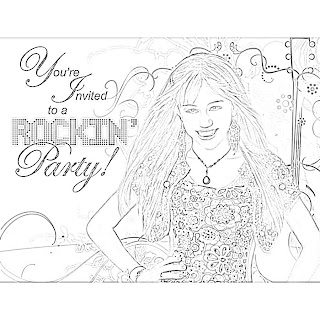 Young Girl Coloring Pages