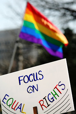 Saturday Gay Rights Protest in Denver