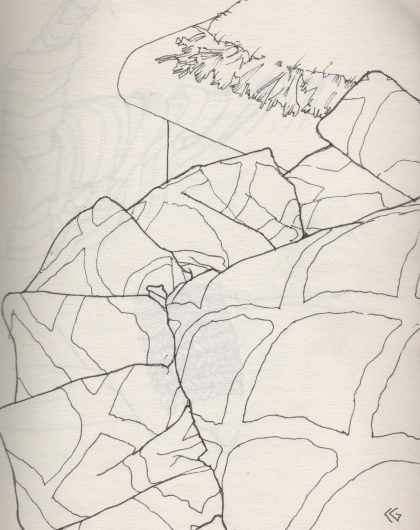 Modified Contour Line Drawing : Chrisgonzalesart some thoughts on contour drawing