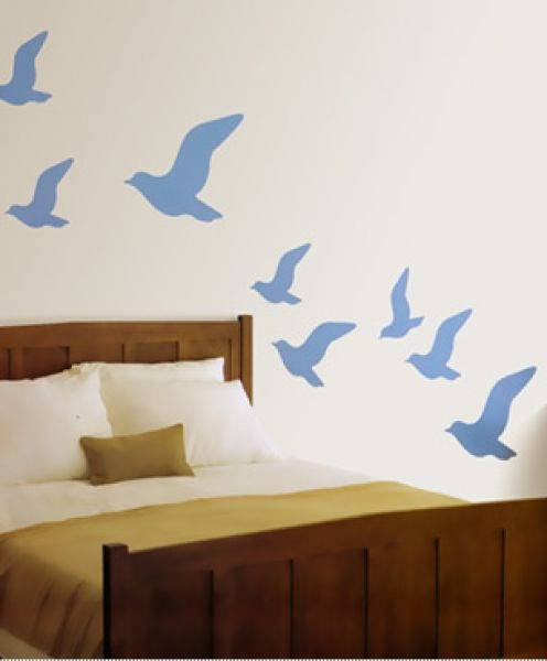 The bliss journey how to create your own wall stickers for Create your own wall mural photo
