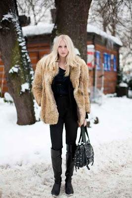 Amanda Don Winter Street Style Stockholm