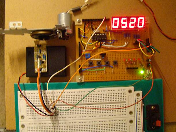 Pic 16f628 Frequency Counter : My pic projects