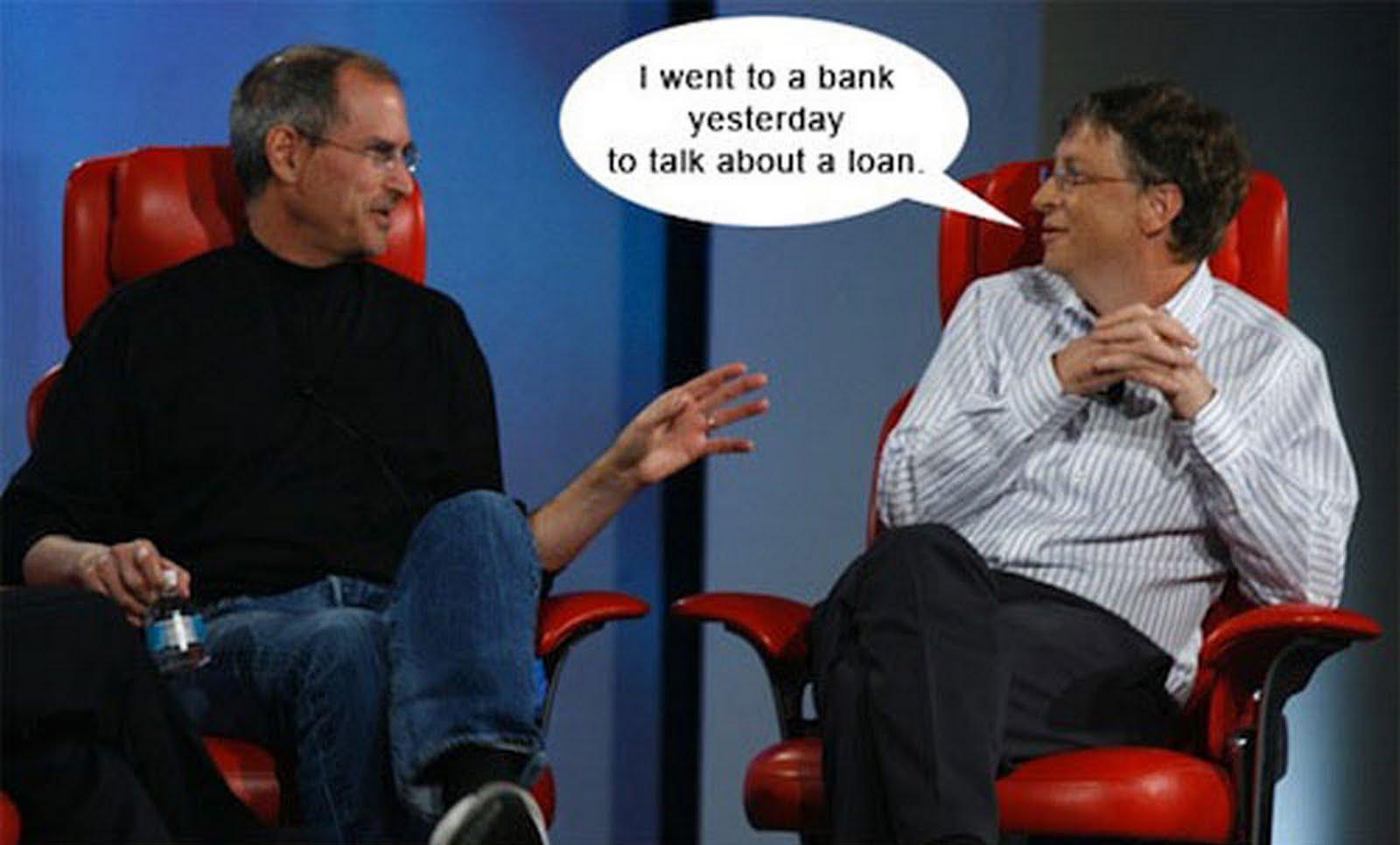 Steve Jobs vs Bill Gat...