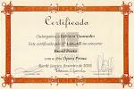 Prêmio LITTERIS EDITORA - 1º lugar
