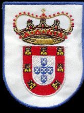 Emblema em pano bordado