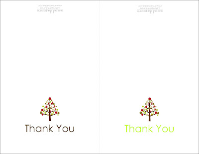 Anna And Blue Paperie Free Printable Holiday Thank You Note