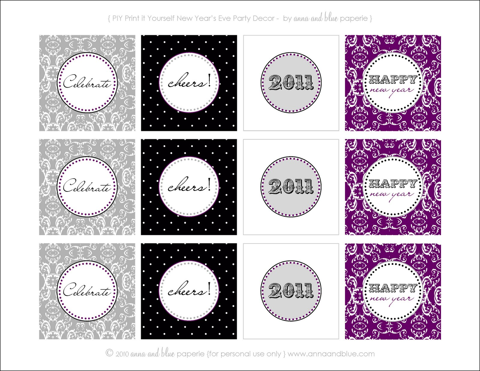 happy new year party printables skip to my lou
