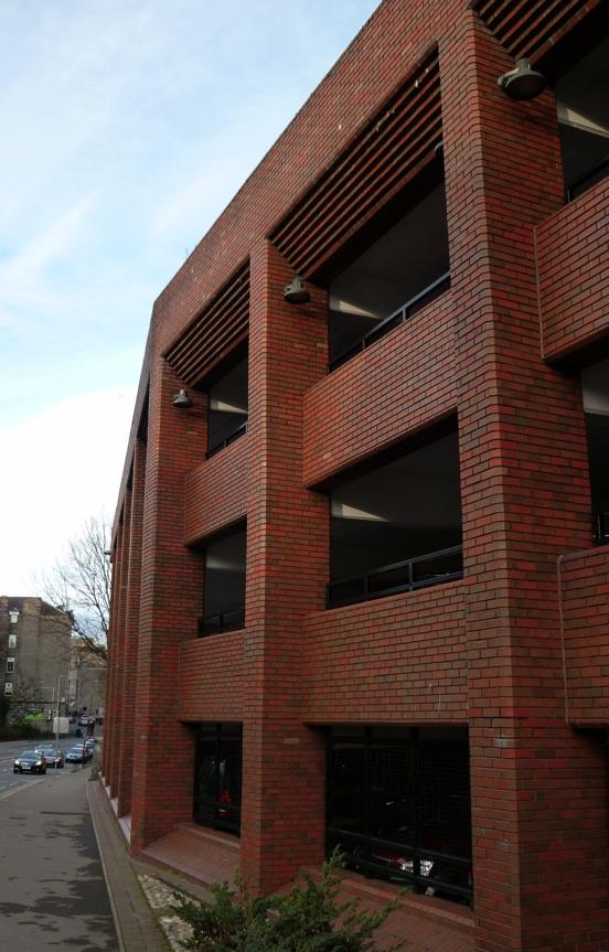 Aberdeen College Street Car Park