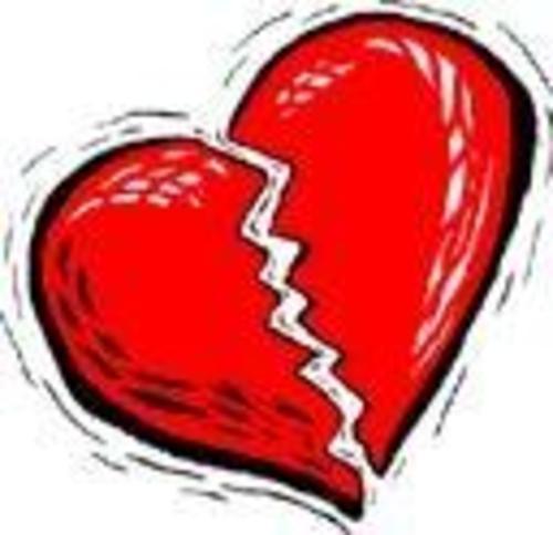 imagenes de corazones rotos de amor. corazones rotos.