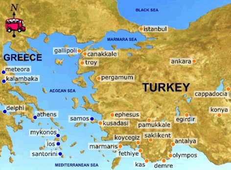 Greece & Turkey's Journey January 17, 2011. Posted by Yilan in Turkey,