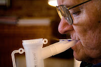 Using a nebulizer