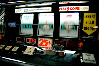 A thing of the past, coin operated slots...
