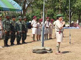 เข้าค่ายลูกเสือ-เนตรนารีที่ค่ายทหาร ป พัน 20