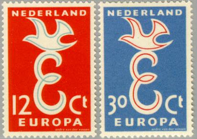 Europa Stamps 1958