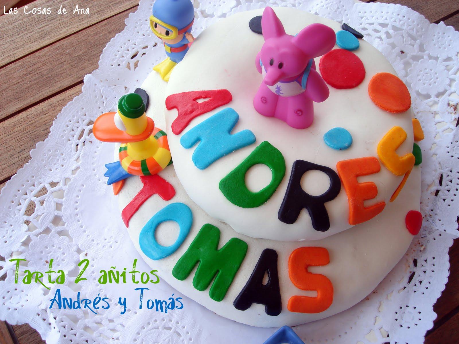 Las cosas de ana tarta fondant - Detalles originales para cumpleanos infantiles ...