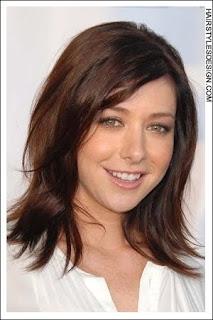 Alyson Hannigan Hairstyles