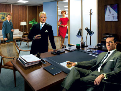 old Sterling Cooper office. At the end of last season the new Sterling ...