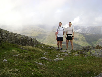 Chris and Me on Wetherlam
