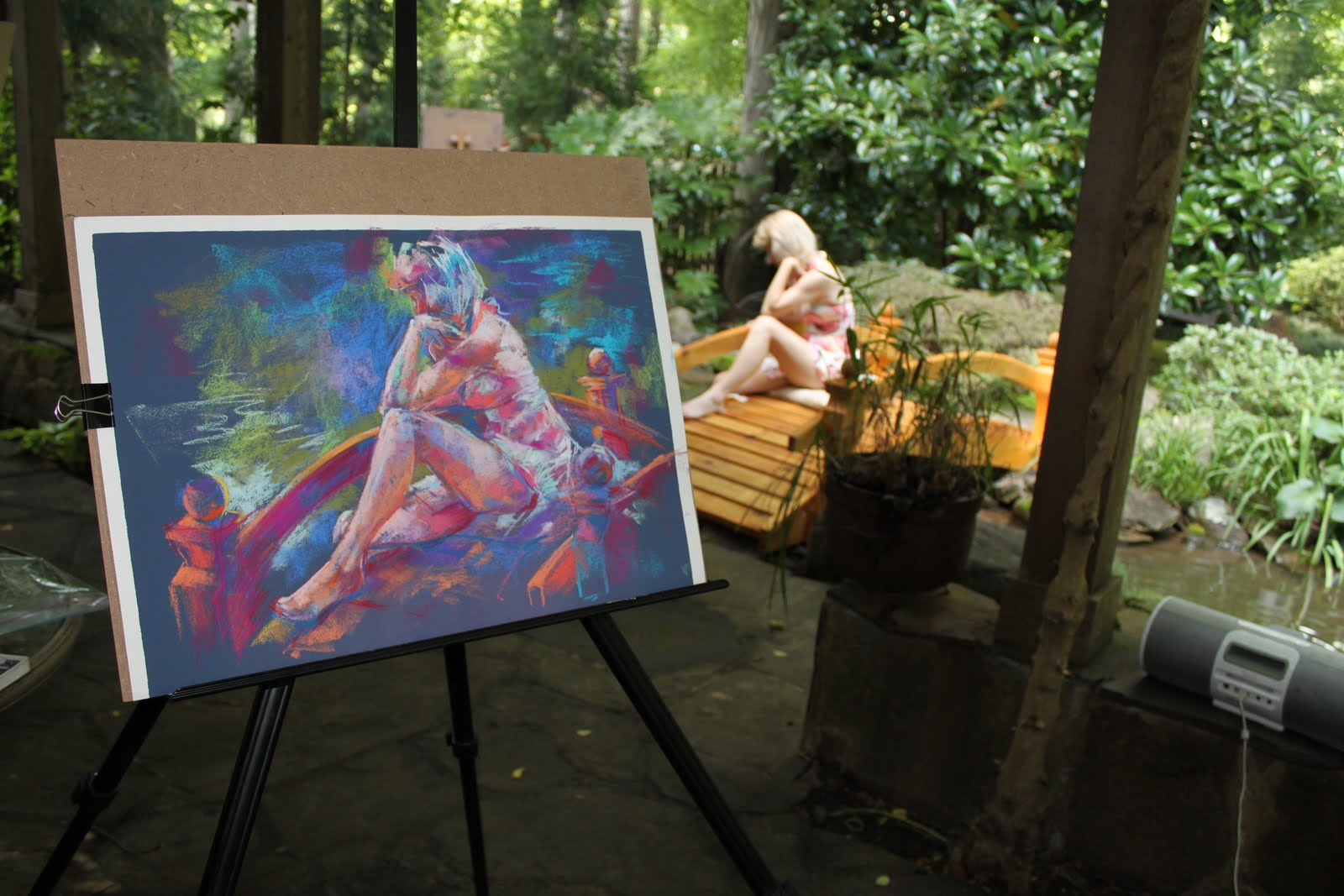 FiguresMy Art and My Life Figure Drawing in the Garden