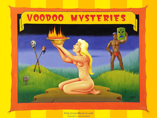 Johnny Meah's Voodoo Mysteries Banner