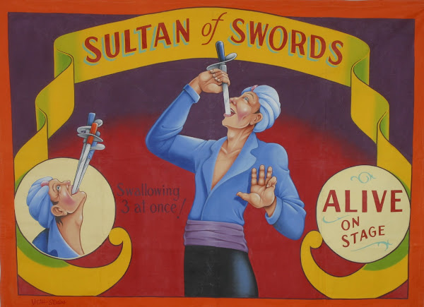 Johnny Meah's Sultan of Swords Banner