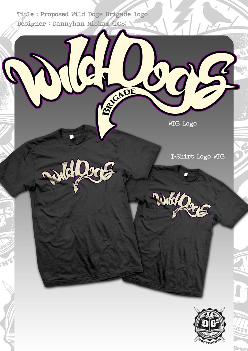 Dead Graphic Society: Wild Dogs Brigade logo Tee
