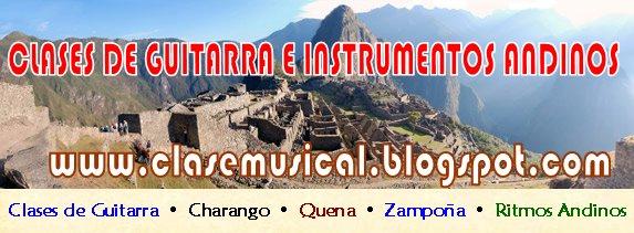 CLASES DE GUITARRA EN SANTIAGO