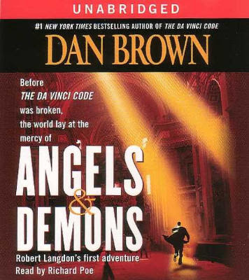 Angels And Demons- by Dan Brown