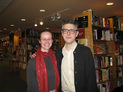 Ira Glass and me, February 2008