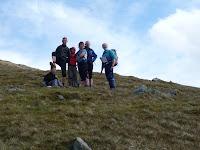 Climbing Beinn Odhar