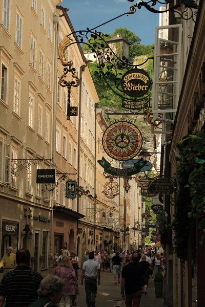Salzburg, Austria August 2007