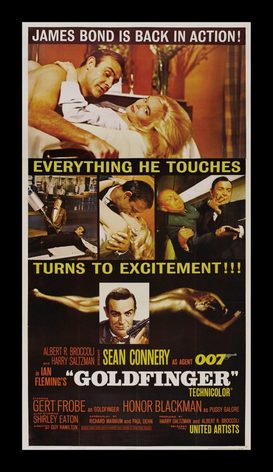 007 goldfinger movie: