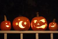 Halloween Pumpkin Family Wallpaper