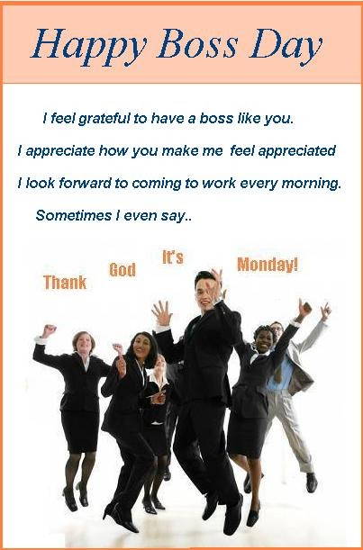 Happy boss day cards m4hsunfo Image collections