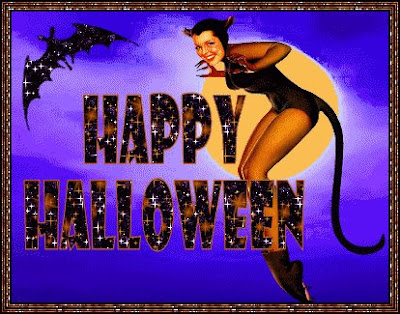 Download Cat and Bats Halloween Wallpaper