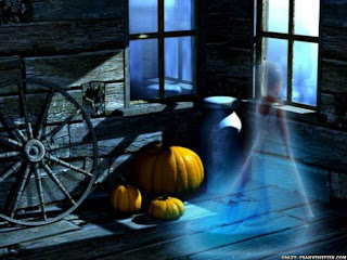 Download Haunted Halloween Wallpaper
