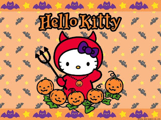Free Hello Kitty Halloween Wallpaper