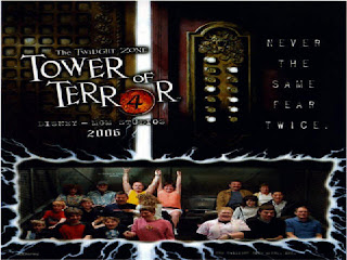 Download Terror Tower Halloween Wallpaper