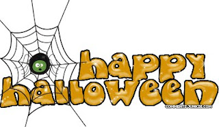 Halloween Black Spider Wallpaper