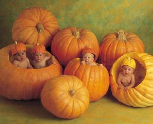 Cute Babies Halloween Wallpaper