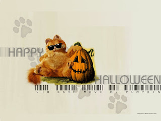 Garfield Halloween Wallpaper