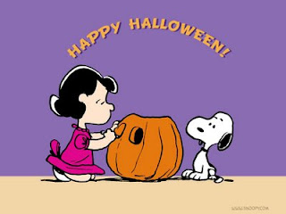 Peanuts Halloween Cartoon Character Wallpaper