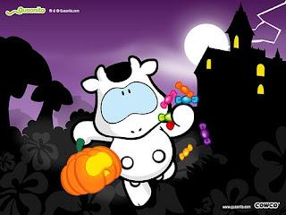 Halloween Cartoon Wallpaper