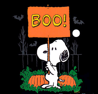 Snoopy Halloween Boo Wallpaper