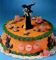 cake on halloween