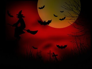 Red Halloween Wallpaper