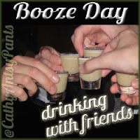 Booze Day with Friends from CathyHasAntsyPants.com