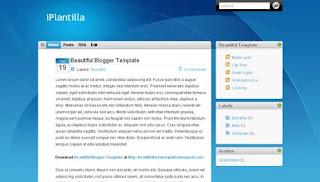iTheme XML Blogger Template