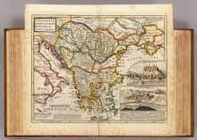 A general map of Turkey in Europe, Hungary 1732 from 1736